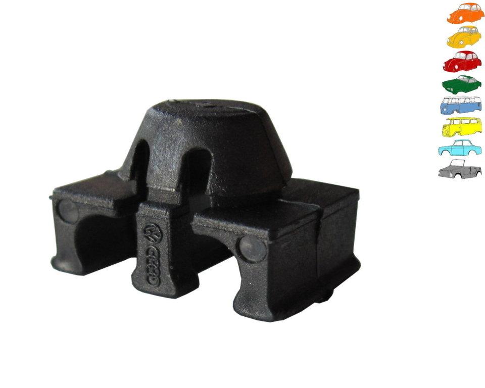 z ndkabel befestigungsclips f r 2 kabel st ck kaeferteilehandel. Black Bedroom Furniture Sets. Home Design Ideas